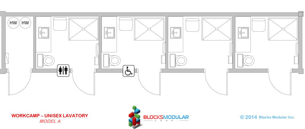 Module-Workcamp-Unisex Lavatory Model A
