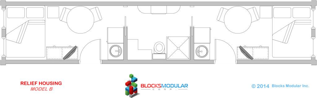 Module-Relief Housing Model B