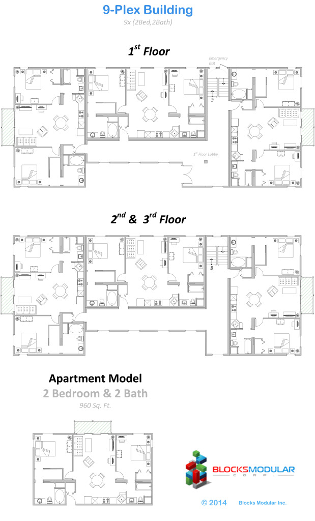 Multifamily-9plex